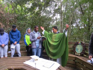 Holy Mass on Table Mountain